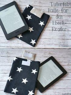 DIY-Tutorial: Anleitung zum Nähen einer Ebook-Hülle/Kindlehülle Kindle Paperwhite Ebookreader-Hülle selber nähen