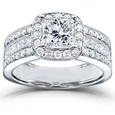 Shopping Cart Princess Cut Diamond Engagement Ring 2 Carat (ctw) in 14K White Gold From Kobelli List Price: $6,500.00 Price: $4,390.00 Availability: Usually ships in 1-2 business days Ships from an…