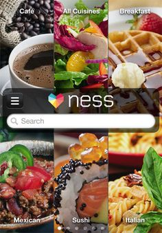 Meet Ness, a beautiful new app for restaurant recommendations that are tailored to your tastes.