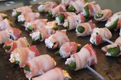 mess of greens: southern food & hospitality: super EASY jalepeno poppers. For the Super Bowl (or any time you feel like being super!)
