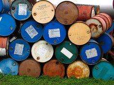 Oil Barrels by Valentinian, via Flickr (Santore S, 2007)