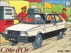 Côte d'or - Citroën Axel