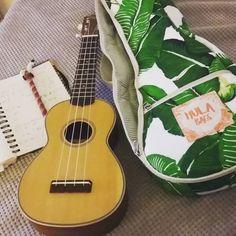 Adecuada para Ukelelede de 21 Pulgadas Soprano MUSIC FIRST Chica de Hula Caso Bolsa de Ukelele