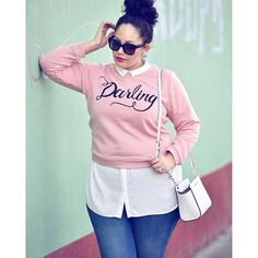 Darling Sweatshirt | Women's Plus Size Tops | ELOQUII