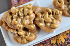 Chewy Salted Caramel Cashew Clusters