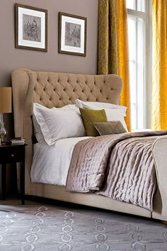Elegant Townhouse - Bedroom Design Ideas & Pictures – Decorating Ideas (houseandgarden.co.uk)