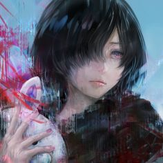 I love her to death! Why in the hell do they not put her more in :re though? I feel like the manga reeeeeally doesn't keep us updated with Touka at all, which makes me sigh. Kaneki x Touka <3