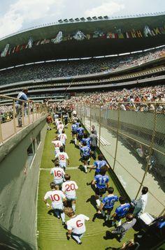 England vs Argentina, Mexico '86 Quarters