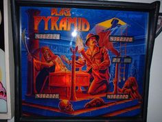 Black pyramid (Bally/Midway,1984) Art by Greg Freres