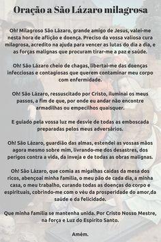 #Oração a São Lázaro milagrosa