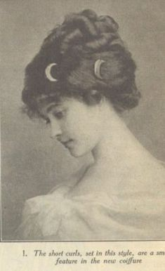 1910 Hairstyles From The People'S Home Journal