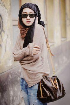 Fashion Gaya Jalanan Dian Pelangi