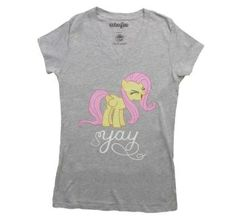 Womens Yay Fluttershy T-Shirt