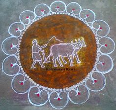 Ideas for science images beautiful Easy Rangoli Designs Diwali, Indian Rangoli Designs, Rangoli Designs Latest, Simple Rangoli Designs Images, Free Hand Rangoli Design, Rangoli Border Designs, Small Rangoli Design, Rangoli Patterns, Rangoli Ideas