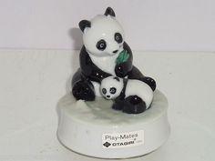 0ceaacd16dc9d Panda Bears Otagiri Music Box Play Mates Mom Baby Song Musical Japan  Vintage  59.95 Play Mate