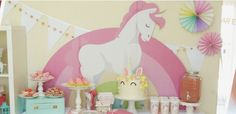 Unicorn Birthday Party Decorations & Supplies - Shindigz http://fave.co/2sljLph