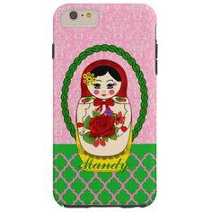 Matryoshka Babushka Russian Doll iPhone6 Case
