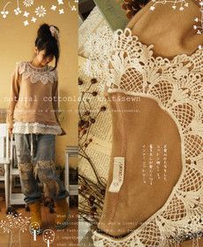 Love this site for upcycling clothing into adorable new outfits. Grab your seam ripper! Inspiration
