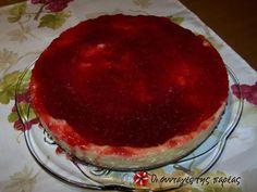 Cheescake φράουλας! #sintagespareas Greek Recipes, Tiramisu, Cheesecake, Cooking, Ethnic Recipes, Sweet, Desserts, Food, Kitchen