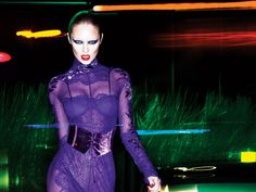 Fierce. Night Temptress – Fall 2011 campaign from Tom Ford. Photographed by Mert & Marcus, Candice dons Ford's sumptuous designs with equal parts glamour and sensuality.