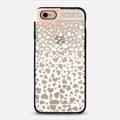 White Field of Hearts iPhone 6 Metaluxe Case by Organic Saturation | Casetify Get $10 off using code: 53ZPEA