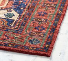 Nicolette Hand Knotted Rug 2 5 X 9 Warm Multi Red
