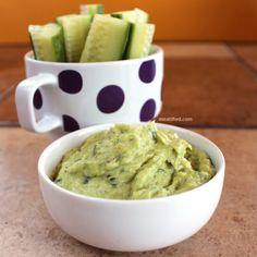 Artichoke & Avocado Dip #paleo #vegan #vegetarian #dip