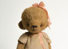 Traditional Teddy Bear Olga  Stuffed Animal  Soft by annapavlovna, $269.00