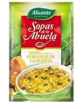 Alicante - Sopas de la Abuela verduras