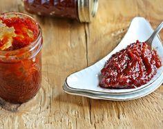 Versatile Vegetarian Kitchen: Sweet and Sour Tomato Chutney