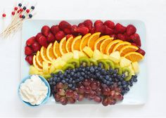Recipe:  Rainbow Fruit Salad