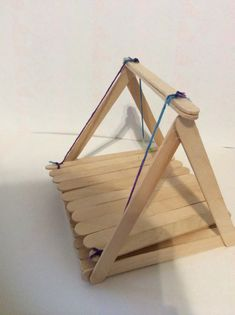 Cute hamster swing out if Popsicle sticks! They love it
