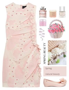 """Spring beauty"" by nueova ❤ liked on Polyvore featuring Simone Rocha, Christian Dior, Sara Happ, Nails Inc., Paul & Joe Beaute, Wilton and Melissa"