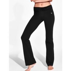 FLASH SALE NWOT VS Ultimate Yoga Boot Pant Pink Stripe. Tried on and didn't like. No trades. Price firm unless bundled. PINK Victoria's Secret Pants Track Pants & Joggers