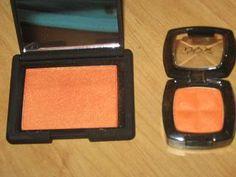 NARS Taj Mahal blush dupe: NYX Golden Orange Blush