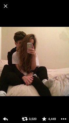 Mirror picture with boyfriend