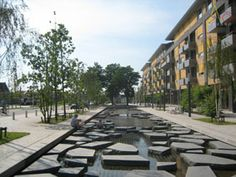 Part of the big storm water project of Tiel-Oost, Netherlands.