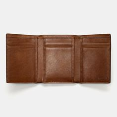 COACH Mens Leather Wallets|BLEECKER LEGACY TRIFOLD WALLET IN LEATHER