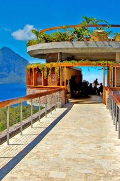 Bridges connect suites to the resort, including Jade Cuisine, where meals are served. Jade Mountain Resort (Soufriere, St Lucia) - Jetsetter
