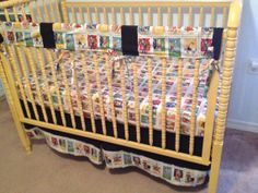 Mexico Baby Crib Bedding Set Baby or Toddler by BeachBabyCouture