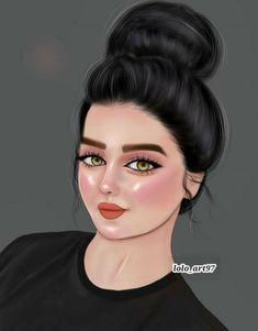 Girl Drawing Sketches, Girly Drawings, Girl Sketch, Sad Girl Art, Anime Art Girl, Beautiful Girl Drawing, Cute Girl Drawing, Cartoon Girl Images, Cute Cartoon Girl