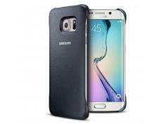 Coque Galaxy S6 Edge Protective Cover Cuir Eco Origine Samsung - Noir