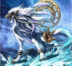 fenrir son of loki the first werewolf! Fantasy Wolf, Fantasy Beasts, Fantasy Dragon, Dark Fantasy Art, Fantasy Artwork, Mystical Animals, Mythical Creatures Art, Mythological Creatures, Magical Creatures
