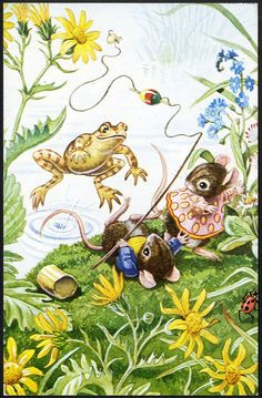 DRESSED MICE and Frog by RACEY HELPS