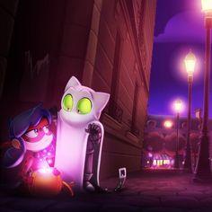 Ladybog y chat noir