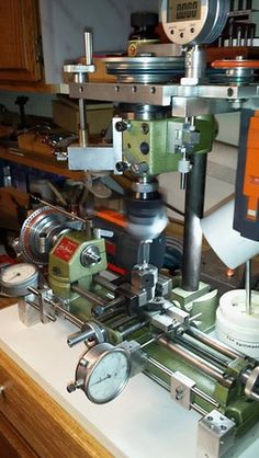 Modifications and Improvements to a Unimat SL 1000 Lathe-unimat-machining-boring-head-adapter-criterion-boring-head. Milling Machine, Machine Tools, Small Metal Lathe, Diy Lathe, My Builder, Factory Work, Drill Guide, Industrial Machine, Tool Shop