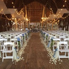 Charlevoix, Michigan wedding and events photo gallery.  Shanahan's Barn pictures of past events and weddings.