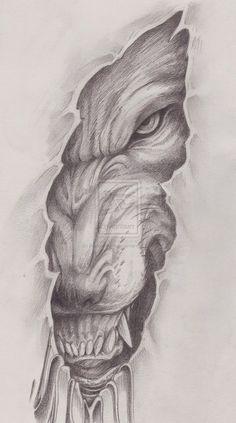 Resultado de imagen para lobos dibujos