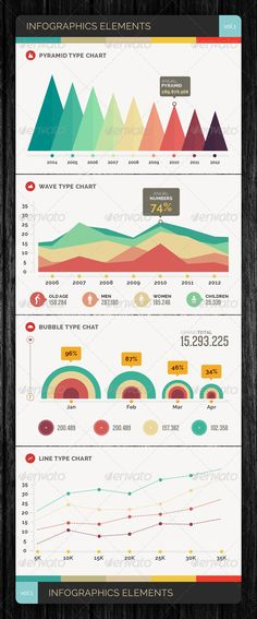 Infographics Elements Vol.1 - GraphicRiver Item for Sale