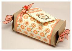 Homemade gift box, cute!